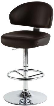 MCA Furniture Big Barhocker braun