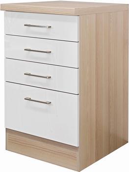 Flex-Well Küchenunterschrank Abaco 50cm Perlmutt (7153)