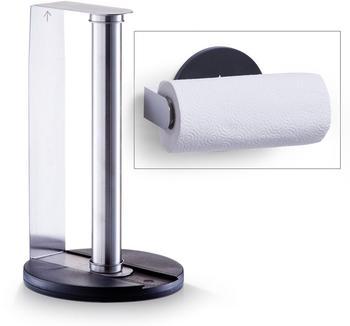 zeller-kuechenrollenhalter-edelstahl-kunststoff-24857