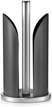 zeller-kuechenrollenhalter-edelstahl-metall-matt-schwarz
