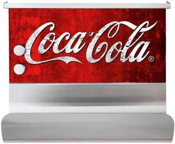Wenko Magnetischer Rollenhalter mit Ablage Coca-Cola rot/weiß