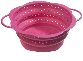 Kochblume Faltsieb L pink
