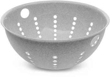 Koziol Palsby L Abtropfsieb Organic Grey, 5 L, 3808670