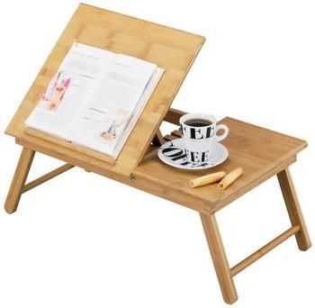 Zeller Bett-Tablett mit Leseklappe Bamboo
