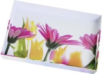 Emsa Classic Tablett Summerflowers 50 x 37 cm