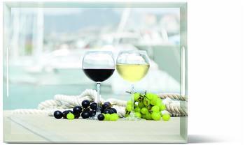 Emsa Classic Tablett Summer Wine 40 x 31 cm