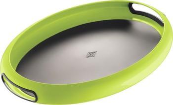 Wesco Spacy Tray oval limegreen