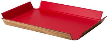 Continenta Tablett rutschfest (45 x 34 cm) rot