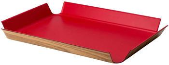 Continenta Tablett rutschfest (41 x 29,5 cm) rot