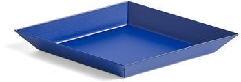 HAY Kaleido Ablage/Tablett XS königsblau/pulverbeschichtet/LxB 19x11cm