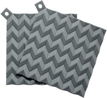 RIG-TiG Hold-On Topflappen Set 2-teilig grey
