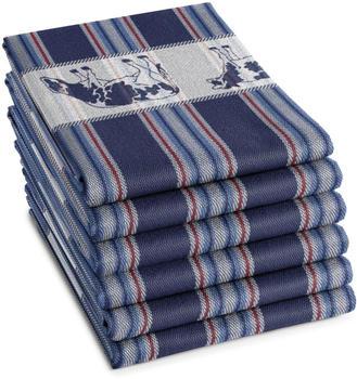 damai-geschirrtuch-friesian-set-6-tlg-dunkelblau