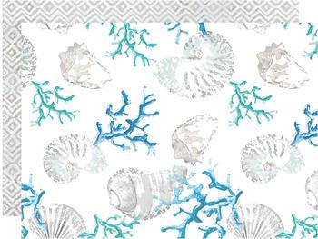 Apelt Platzset 2-teilig Summer Garden weiß-blau (7808)