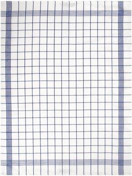 Dyckhoff Geschirrtücher Set 10-teilig Karo blau