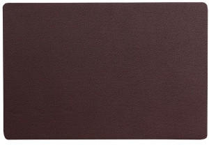 Kela Tisch-Set Kimara PU-Leder braun 45,0x30,0x0,2cm
