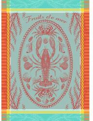 Garnier-Thiebaut Marée Basse Baumwoll-Geschirrtuch 56 x 77 cm
