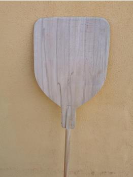 Hofmann Holz-Pizzaschaufel und Brotschieber 33x38x186cm
