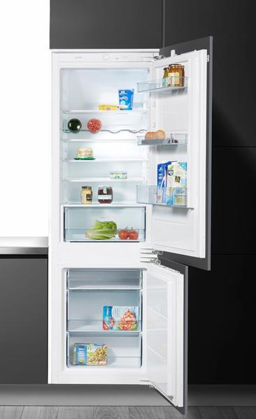 Gorenje Einbaukühlgefrierkombination RKI5182E1, 177,2 cm hoch, 54,5 cm breit, Energieeffizienzklasse: A++, 177,2 cm, weiß