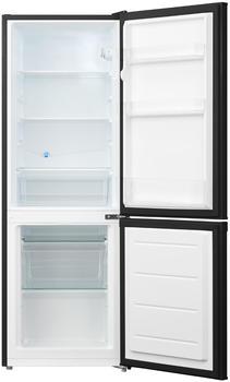 Respekta Kühlschrank Standkühlschrank Kühl-Gefrierkombination schwarz