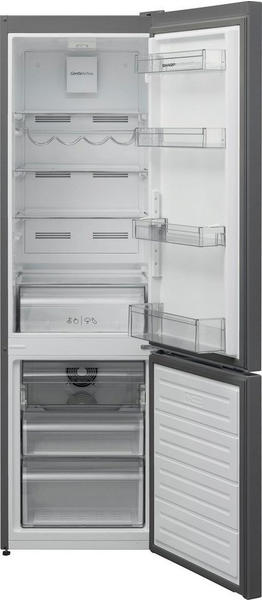 Sharp Kühl-/Gefrierkombination SJ-BA05DTXL2-EU, 180 cm hoch, 54 cm breit silberfarben