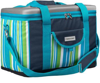 anndora Kühltasche XL 40 L dunkelblau-limette