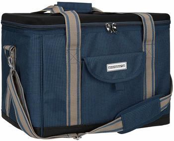 anndora Kühltasche XL 40 L hahnentritt dunkelblau