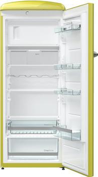 Gorenje ORB153AP, Kühlschrank, gelb