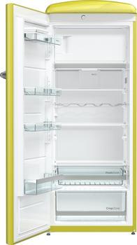 Gorenje ORB153AP-L, Kühlschrank, gelb