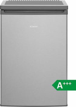 Bomann KS 2198 Kühlschrank/A+++84.8 cm90 kWh/Jahr97 L Kühlteil12 Gefrierteil/justierbare Standfüße/Edelstahl-Optik