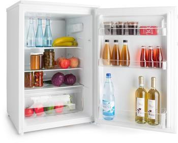 Klarstein Springfield Eco Kühlschrank A+++ Gemüseschublade 2 Glasböden weiß