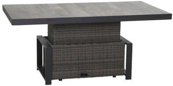 Siena Garden Corido Lifttisch 160x90cm anthrazit/charcoal grey