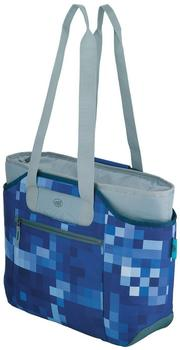 alfi IsoBag Two-in-One M 23Liter blue square