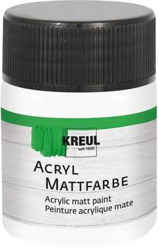 C. Kreul Acryl Mattfarbe 50ml Weiß