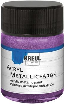 C. Kreul Hobby Line Acryl-Metallicfarbe 50 ml flieder