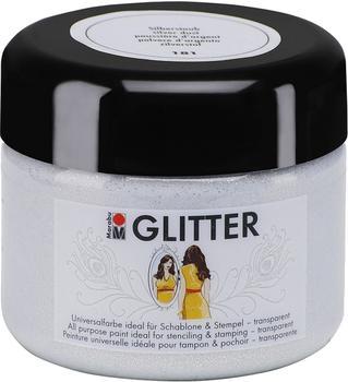 Marabu Colour your dreams Glitter silberstaub 181