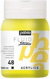 Pébéo Studio Acrylic 500ml primary yellow