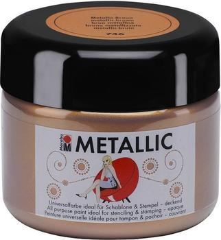 Marabu Colour your dreams Metallic 225 ml metallic-braun