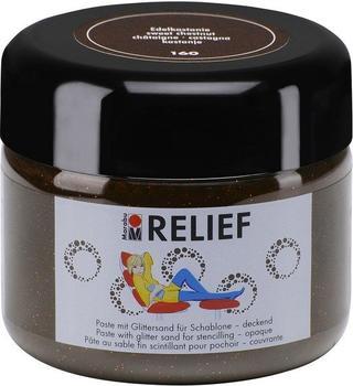 Marabu Relief Paste für Schablone 225ml edelkastanie