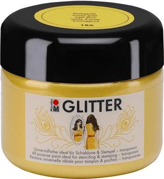 Marabu Colour your dreams Glitter honiggold 186