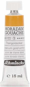 Schmincke HORADAM Gouache 15 ml titangoldocker (640)
