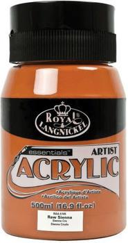 Royal & Langnickel Essentials Acrylfarbe 500 ml ungebranntes sienna