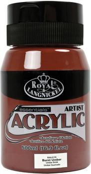 Royal & Langnickel Essentials Acrylfarbe 500 ml gebranntes umbra