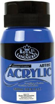 Royal & Langnickel Essentials Acrylfarbe 500 ml dunkles ultramarin