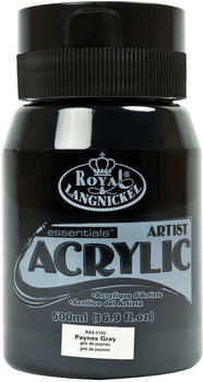 Royal & Langnickel Essentials Acrylfarbe 500 ml paynesgrau