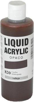 Vallejo Liquid Acrylic 200 ml mahagoni braun