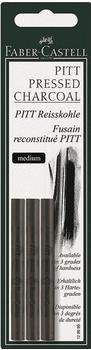 Faber-Castell Reisskohle PITT medium 3er Set