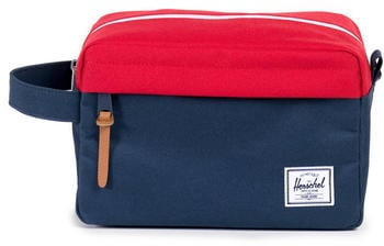 Herschel Chapter Travel Kit navy/red