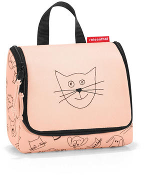 Reisenthel Toiletbag S Kids cats and dogs rose