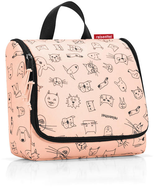 Reisenthel Toiletbag Kids cats and dogs rose