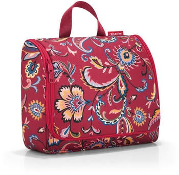 Reisenthel Toiletbag XL paisley ruby